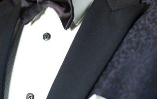 smoking na mieru, black tie