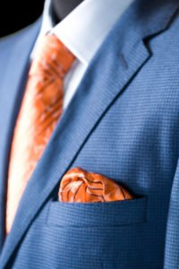 Formal business suit, oblek na mieru